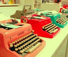 3 typewriters pinterest