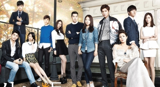 Heirs, a television drama [Photo: http://couch-kimchi.com/2013/10/05/heirs-poster-woo-bin-stills-bts-and-other-goodies-to-tide-us-till-the-premiere/}