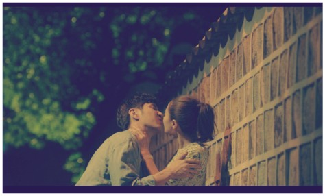 kiss wide