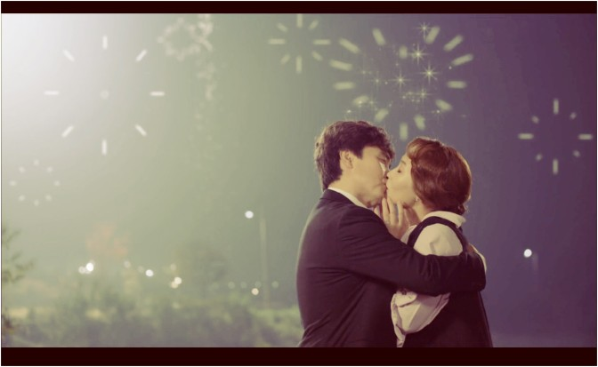 kiss scene kdrama
