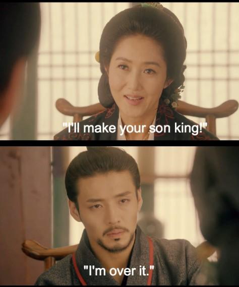 kang ha neul queen hwangbo