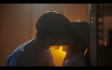kiss scene romantic doctor kim