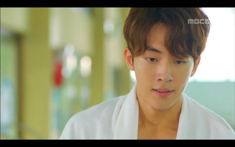 nam joo hyuk shirtless pool kdrama actors