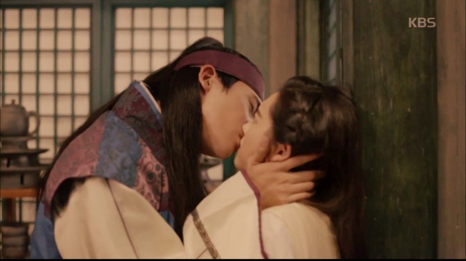 Kiss-Of-The-Week: Hwarang [Episode 6]