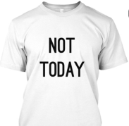 bts not today tee sale