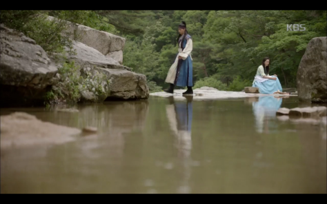hwarang scene park seo joon ep8 river laundry
