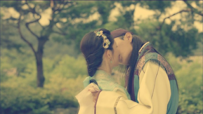 Kiss-Of-The-Week: Hwarang, Episode 13