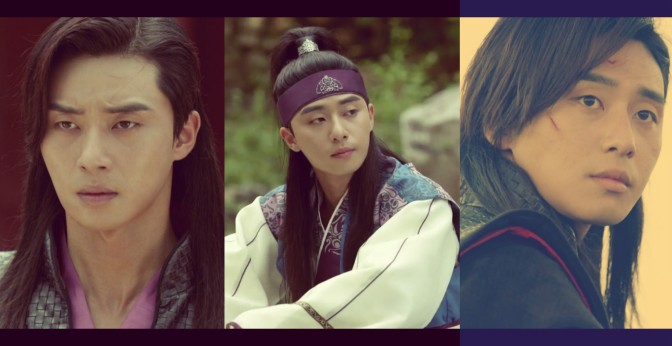 Park Seo Joon's Many Looks On Hwarang