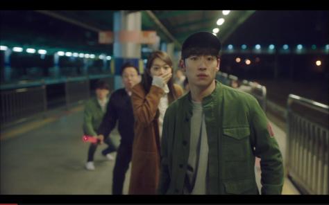 tmy wtf faces lee je hoon shin mina train station