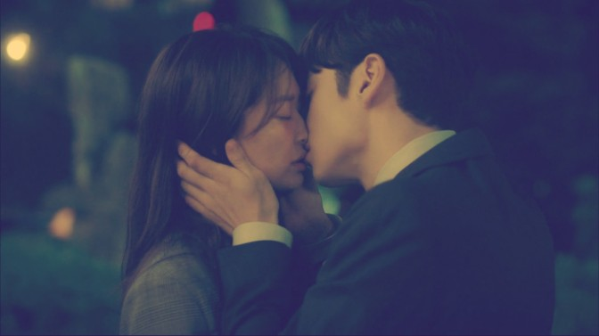 Kiss-Of-The-Week: Lee Je Hoon and Shin Mina