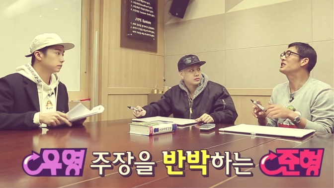 Variety Treat!: Jackson & Joon Hyung Go To Korean School