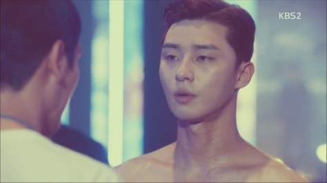 park seo joon shirtless scene