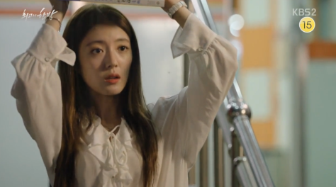 lee se young umbrella scene