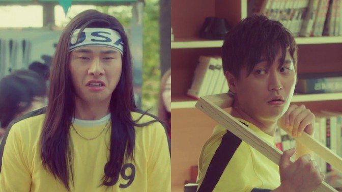 """Supporting Actor Props!: Heo Jung Min & Lee Yi Kyung on """"Go Back Couple"""""""