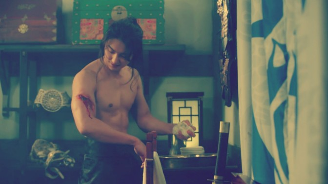 """The 3rd & 4th Time Yoon Si Yoon Took Off His Shirt, """"Grand Prince"""""""
