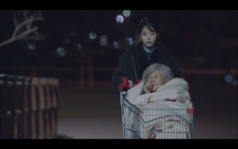 IU grandma shopping cart my ajusshi ep5